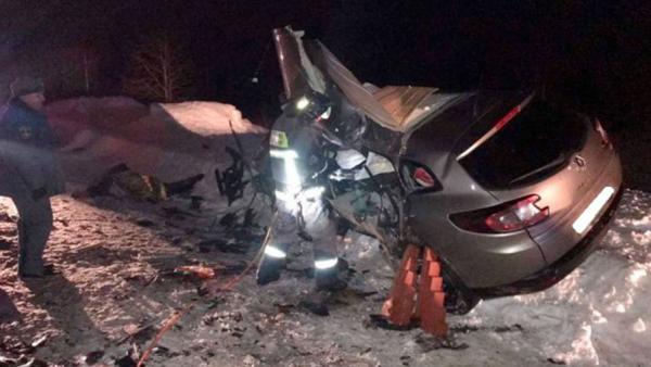 Лишенный прав за пьяную езду водитель убил на трассе в Коми пять человек