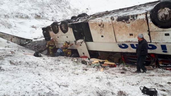 В Тамбовской области произошло смертельное ДТП с двумя автобусами