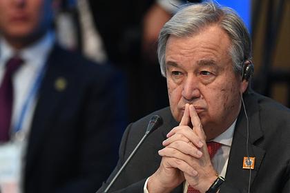 Глава ООН прокомментировал ситуацию вНагорном Карабахе