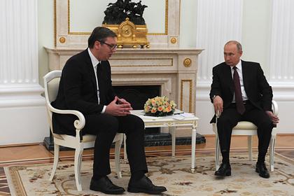 Вучич рассказал обизвинениях Путина из-за слов Захаровой