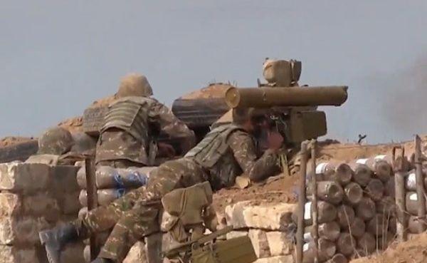 Армия обороны Карабаха: ПопыткиВС Азербайджана продвинуться пресечены