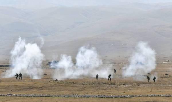 Армия обороны Нагорного Карабаха контрнаступает: Идут тяжёлые бои