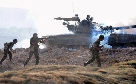 Баку сообщает о«пресечении попыток наступления» армянских вооруженных сил