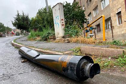 Турцию уличили вобстреле Степанакерта издальнобойного «Урагана»